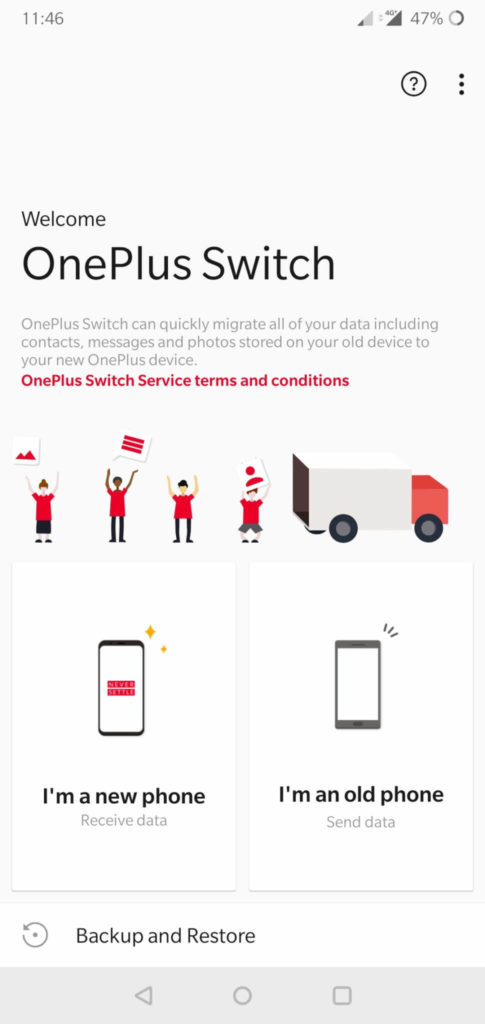OnePlus Switch - Transfer Data Between Android and iPhone