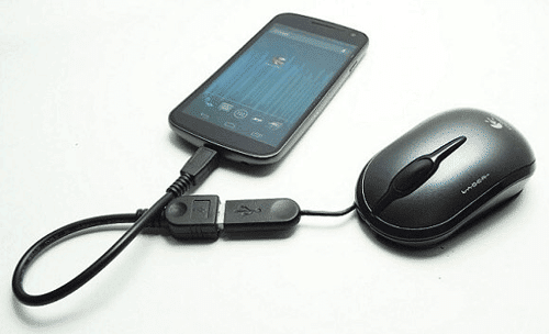 Recover Data From Broken Android Via OTG Cable and Mouse