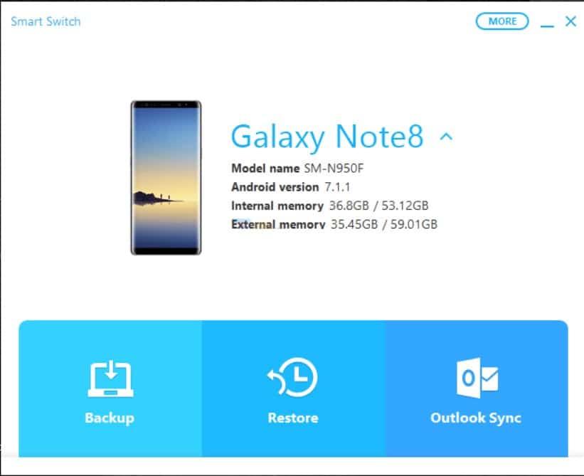 Smart Switch - Restore Samsung Galaxy Phone
