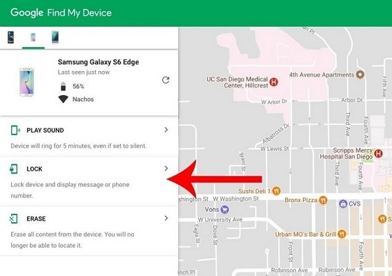 Disable Screen Lock of Android Phone Via Android Device Manager