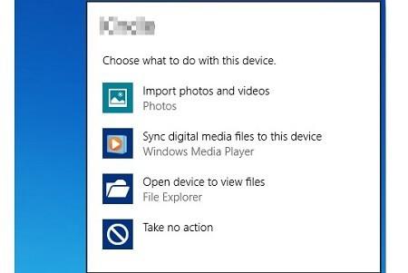 AutoPlay Menu On Windows