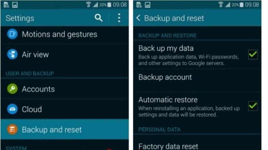Restore Android Data After Factory Reset