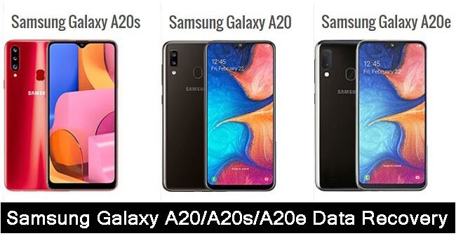 Samsung Galaxy A20, A20s, A20e Data Recovery