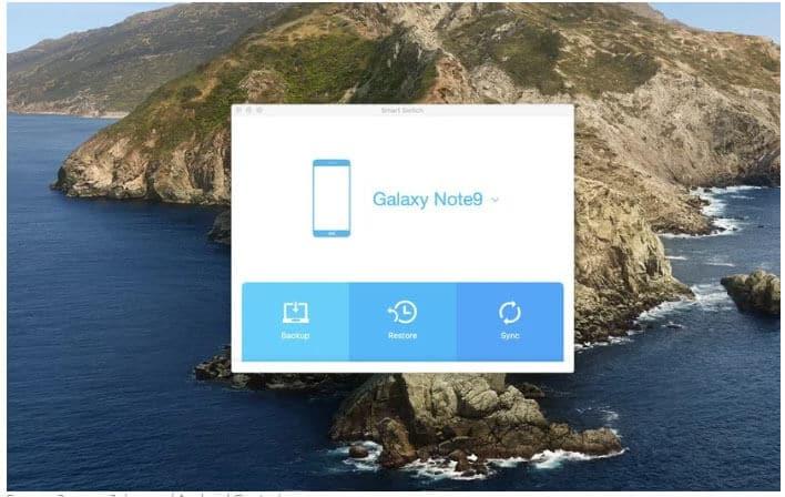 Smart Switch - Restore Samsung Phone Data
