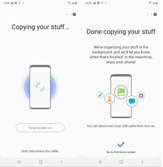 Smart Switch - Restoring Samsung Galaxy Phone Data