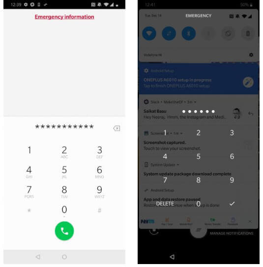 Crash The Lock Screen To Remove PIN Lock On Android